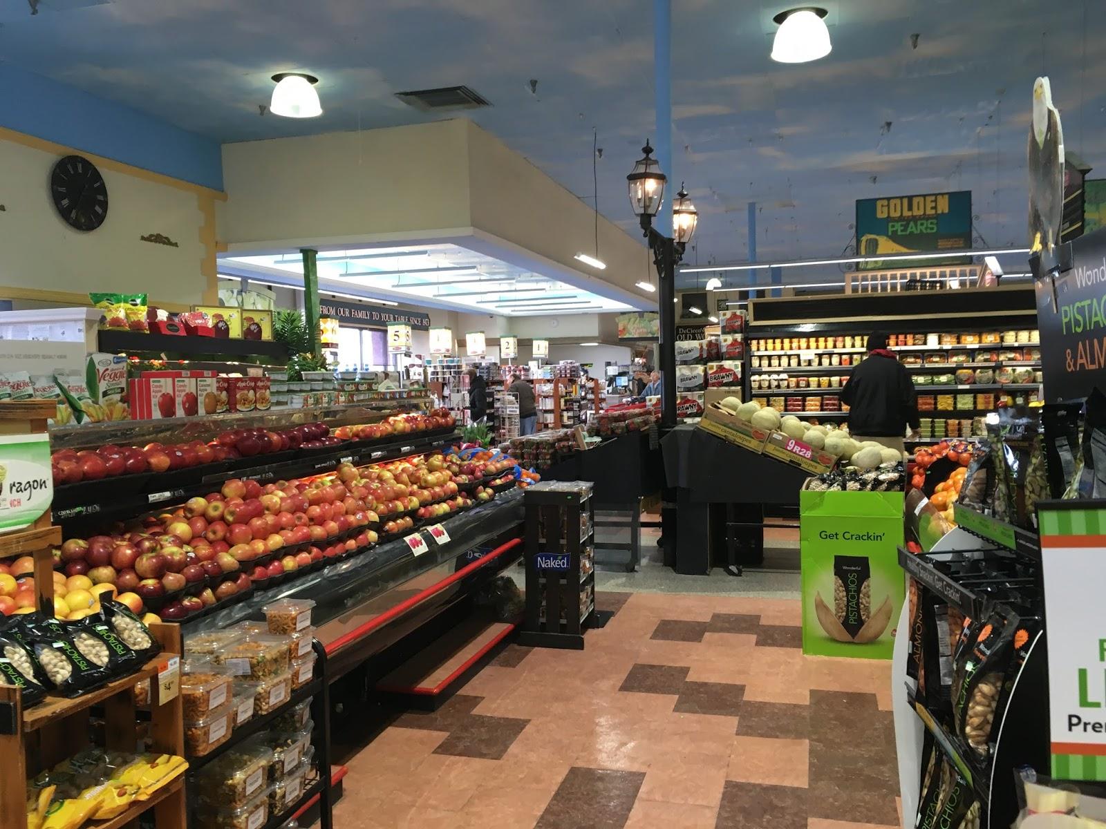 Nj Supermarkets Tour Decicco Family Market New City Ny