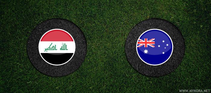 العراق واستراليا بث مباشر