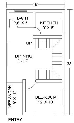 1 Bedroom House Plans #2