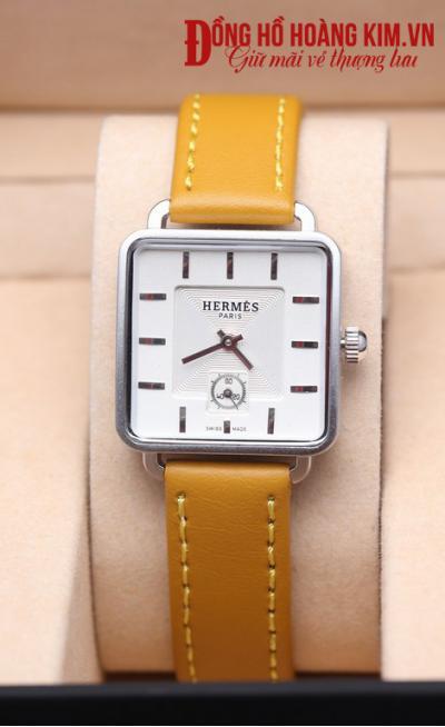 bán đồng hồ nữ dây da đẹp giá rẻ