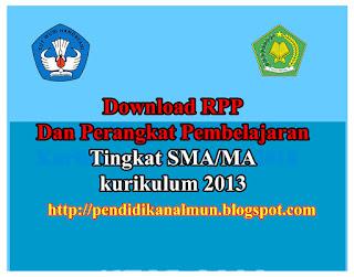 Download RPP dan Perangkat Pembelajaran Kimia Kelas XI Kurikulum 2013 terbaru lengkap