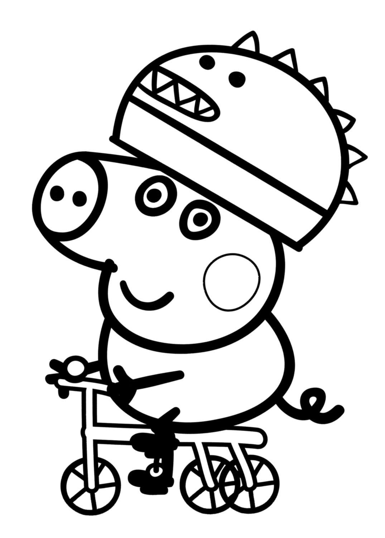 Desenhos Da Peppa Pig Para Pintar