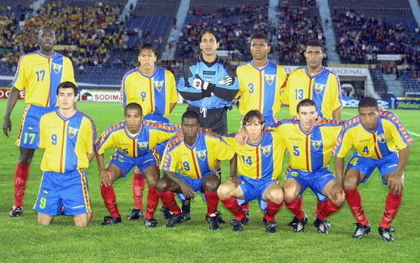 Formación de Ecuador ante Chile, Clasificatorias Corea/Japón 2002, 14 de noviembre de 2001
