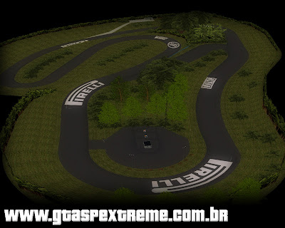 Pista Roskilde Ring para grand theft auto