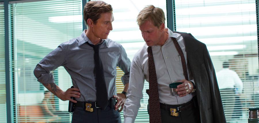 Matthew McConaughey şi Woody Harrelson în Sezonul 1 True Detective