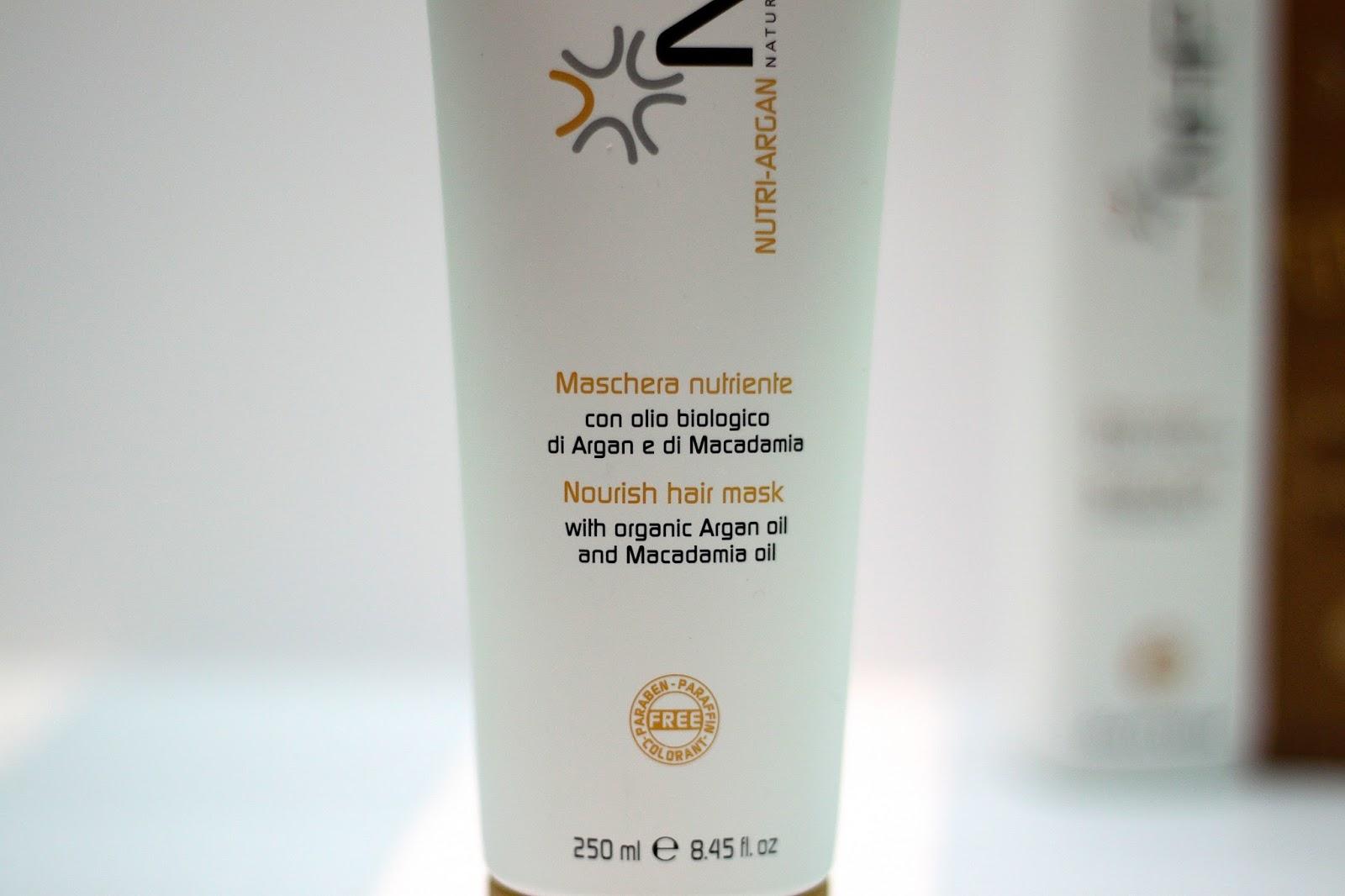 Nutri-Argan Nourish Hair Mask from NHP