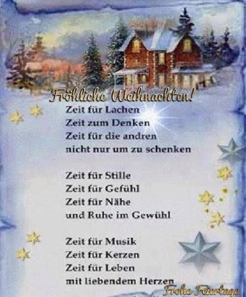 Weihnachtsgedicht