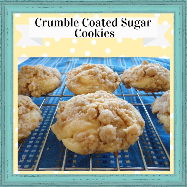 Crumble Coated Sugar Cookies