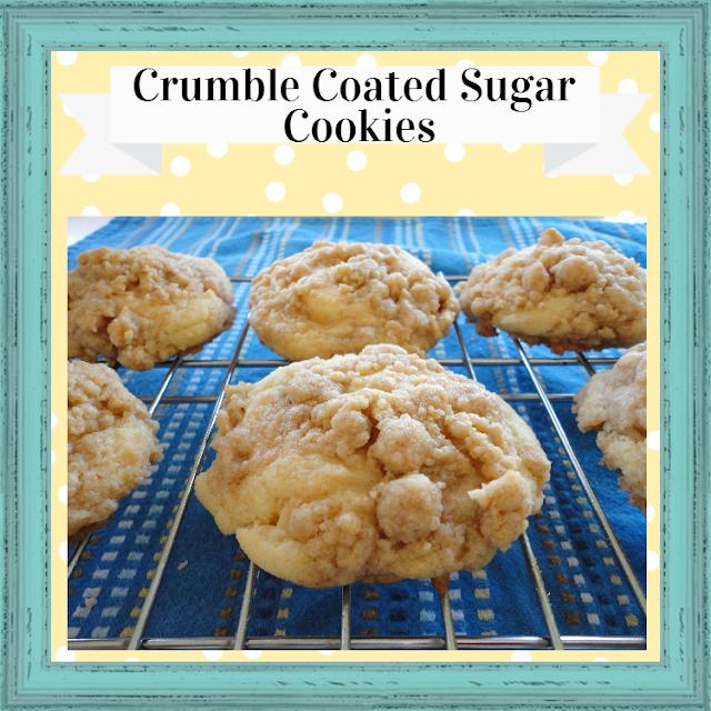Crumble Coated Sugar Cookies