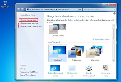 Cara Mudah Menampilkan Icon Computer pada Desktop