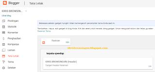 Mengatur Desain Blogspot