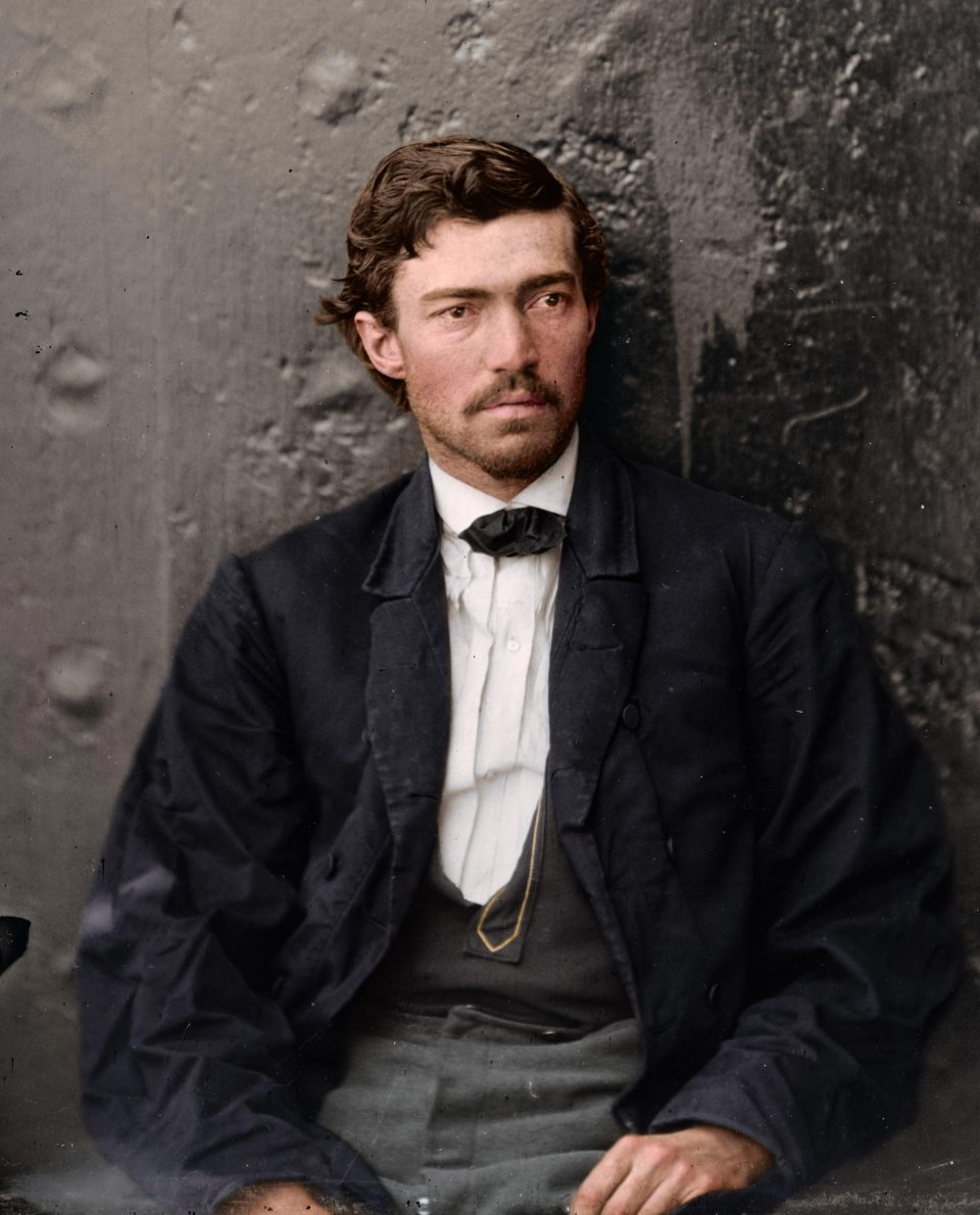 Fascinating Colorized Photos of Men Involved in Abraham ...