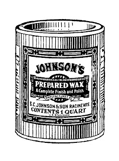 vintage cleaning product image digital clip art