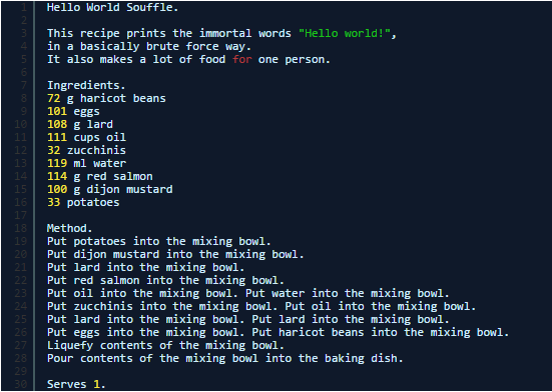 Lenguaje de programacion Chef