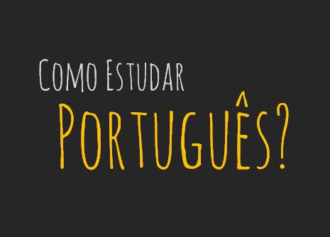 como estudar português sozinho pela internet