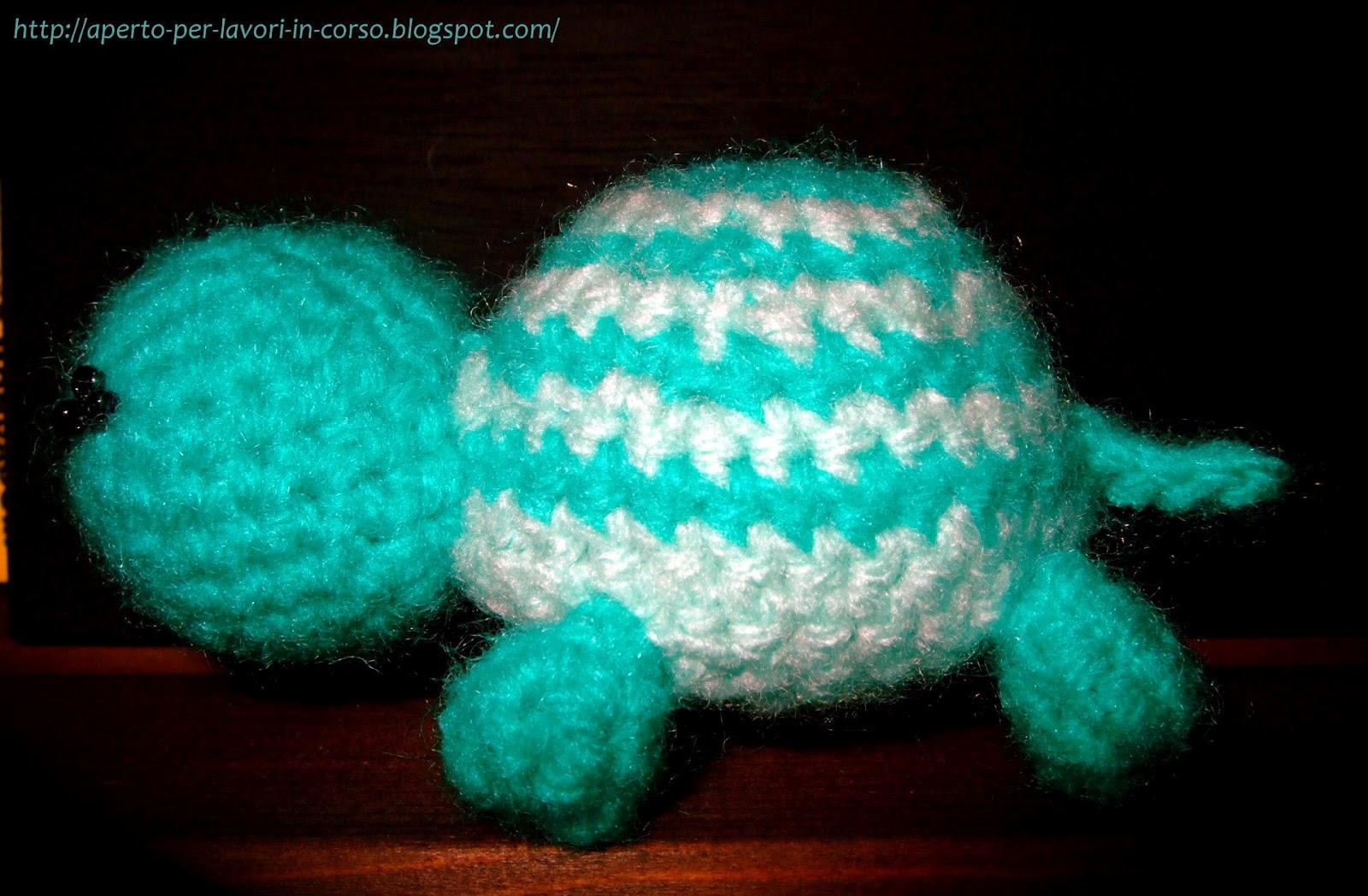 Tartaruga amigurumi all'uncinetto - Crochet amigurumi turtle ... | 1048x1600