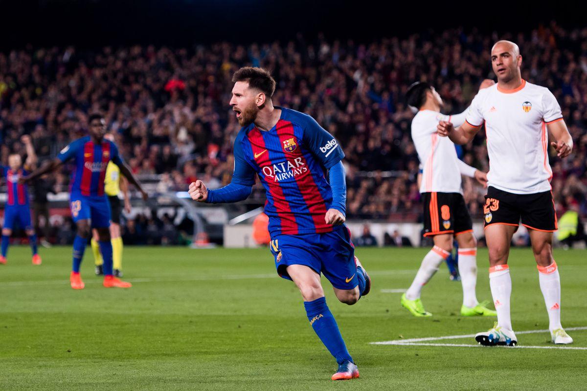 يلا شوت مشاهدة مباراة برشلونة وفالنسيا بث مباشر السبت 14/4/2018 في الدورى الاسبانى والقنوات الناقلة