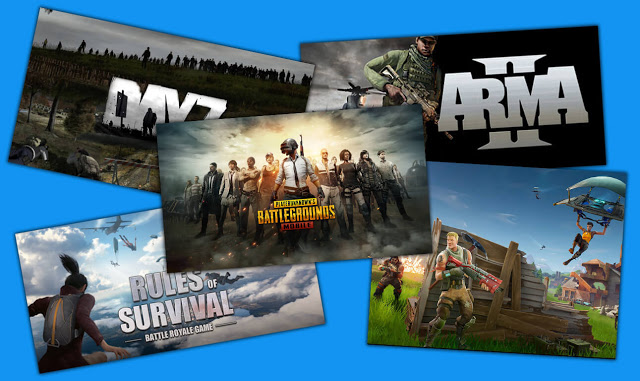9 Best Games Battle Royal like PUBG Mobile on Android