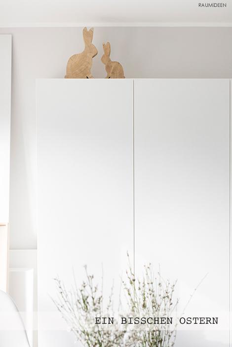 deko-idee: Ginster mit Ostereiern