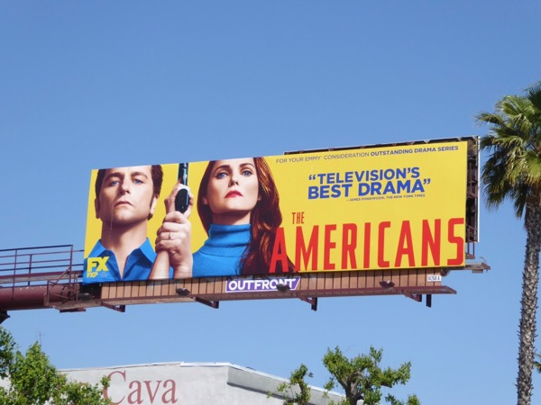 Americans 2017 Emmy billboard