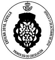 Exfilna 2018 - Sevilla  - Matasellos Primer día de circulación