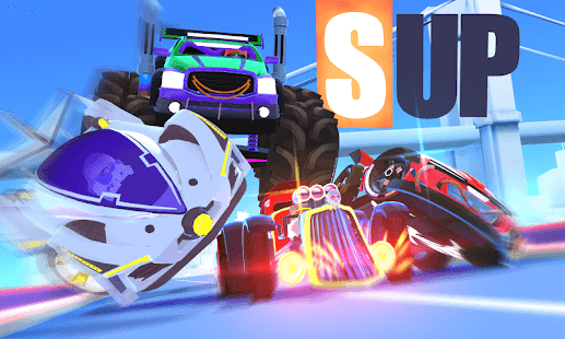 لعبة-SUP-Multiplayer-Racing-للأيفون