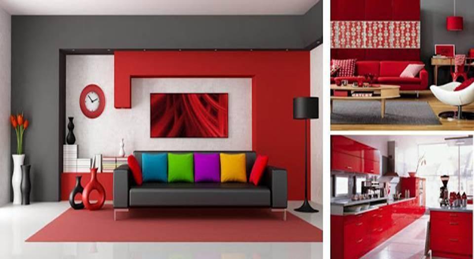 Interior Design Red Color Schemes