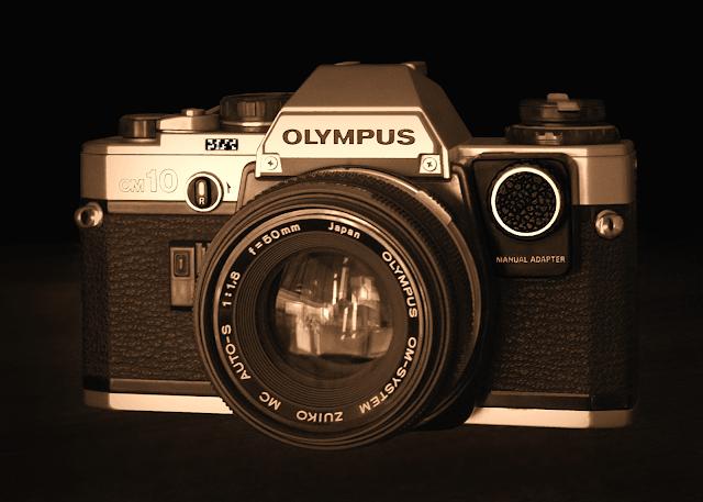 Olympus OM-10 - Sepia tone
