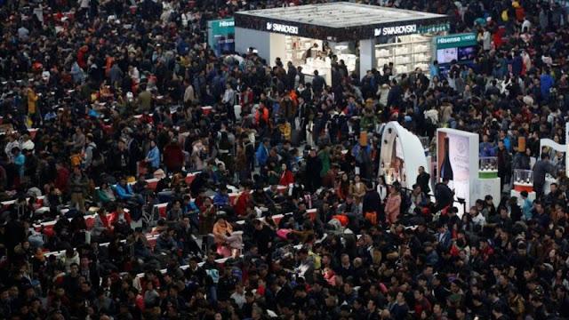 El Año Nuevo chino: la mayor concentración anual de viajes