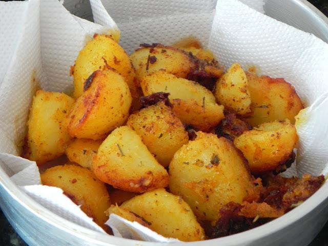 como fazer batata saute