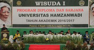 Wagub Kagumi Kemajuan Universitas Hamzanwadi Pancor