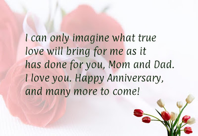 Wedding Anniversary Wishes Quotes for Parents