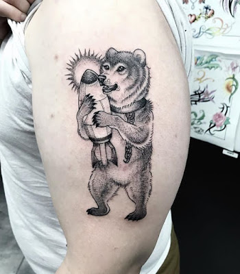 Teddy Bear Tattoo Meaning