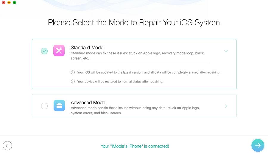 Repair iOS 11
