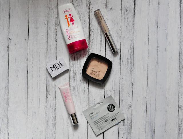 5 kosmetyków, które u mnie się NIE sprawdziły | Wibo Avon Ziaja Tołpa
