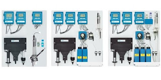 distribution on-line water quality monitoring instrumentation