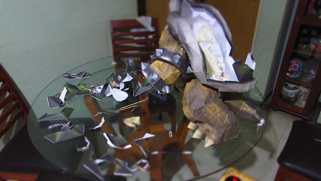 bowser papercraft