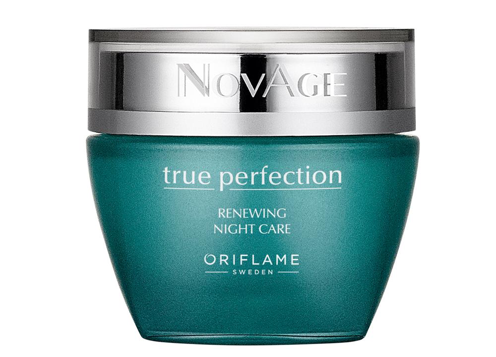 Cuidado de Noite Renewing True Perfection NovAge da Oriflame