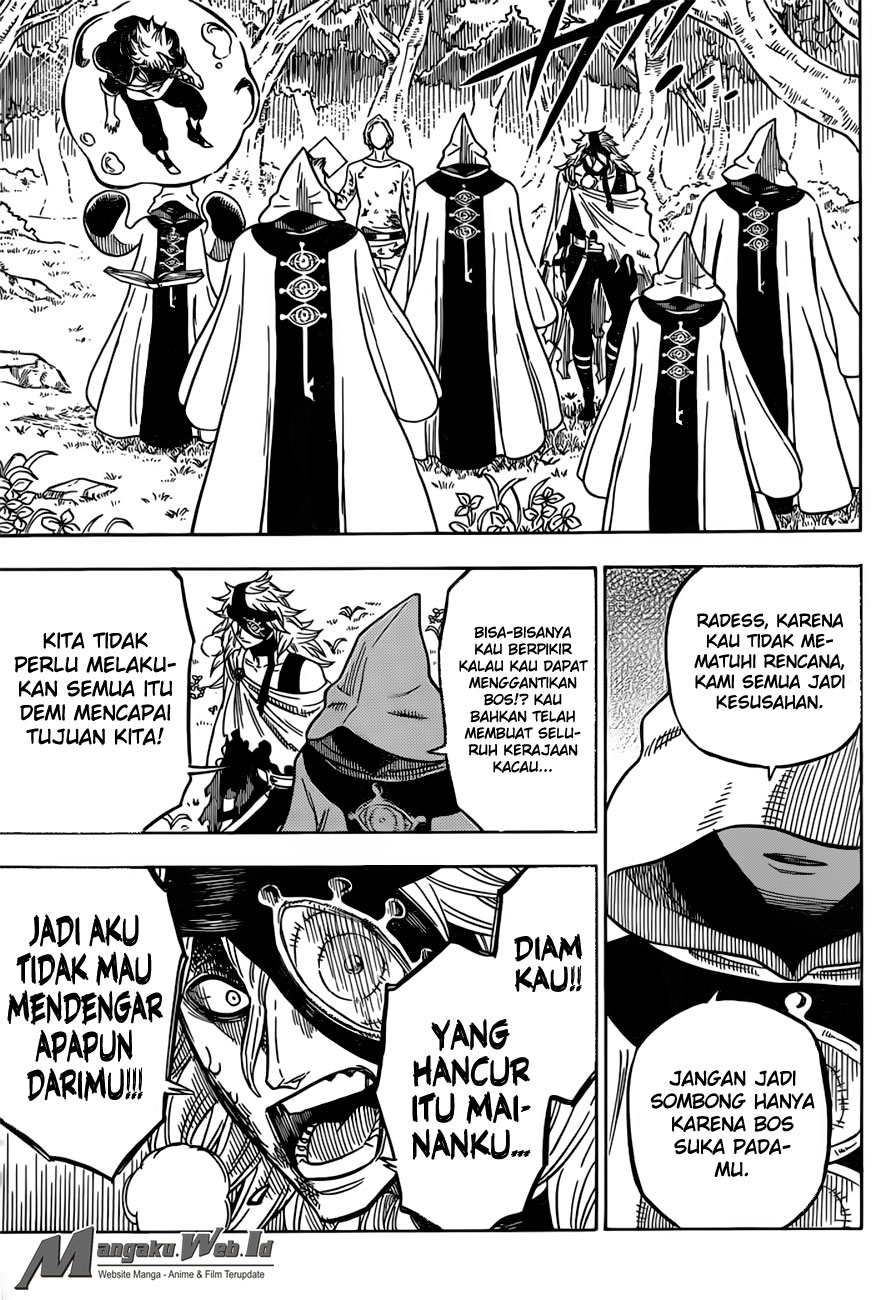 Black Clover Chapter 35 Pria Terkuat