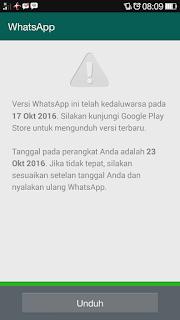 Cara Membuka Whatsapp Yang Sudah Kadaluarsa Tanpa Install Ulang