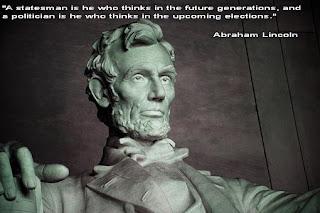 """""""Държавник е този, който мисли в бъдещите поколения, а политик е този, който мисли на предстоящите избо"""
