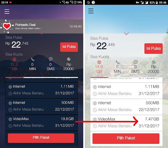 Cara Terbaru Mengubah Kuota VideoMax menjadi Reguler/Flash 24 Jam WORK 100%