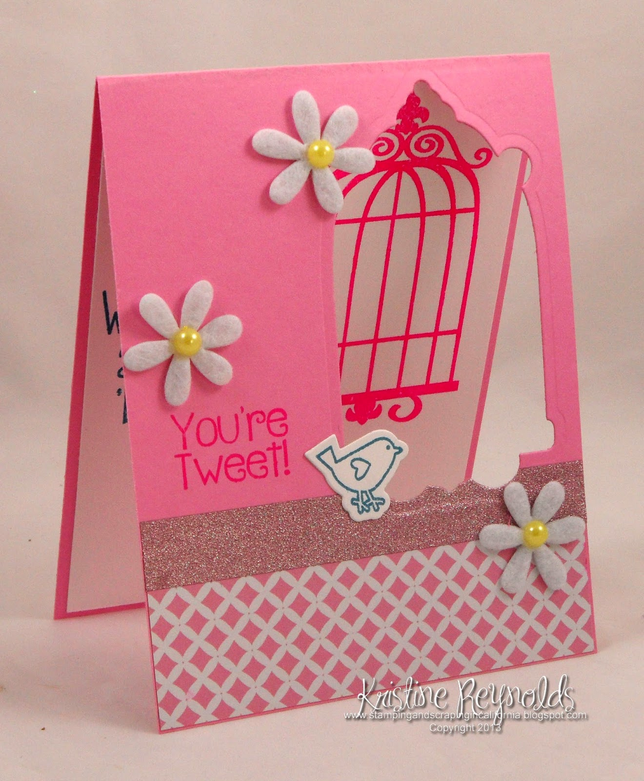Stamping & Scrapping In California: Birdcage2stamp