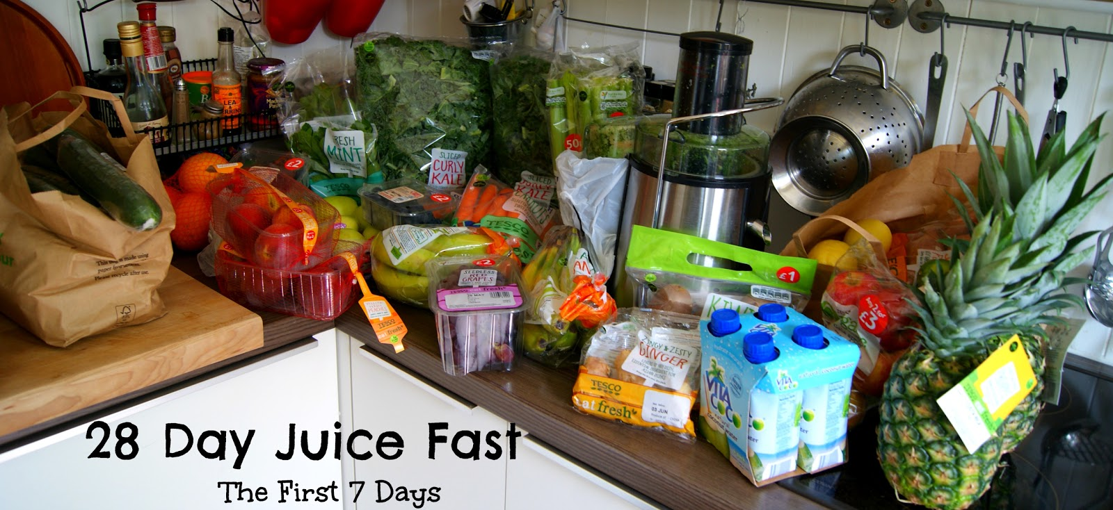 28 Day Juice Fast - The First 7 Days