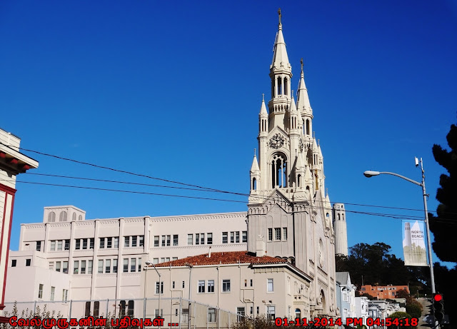 The Italian Cathedral of the West in SFO