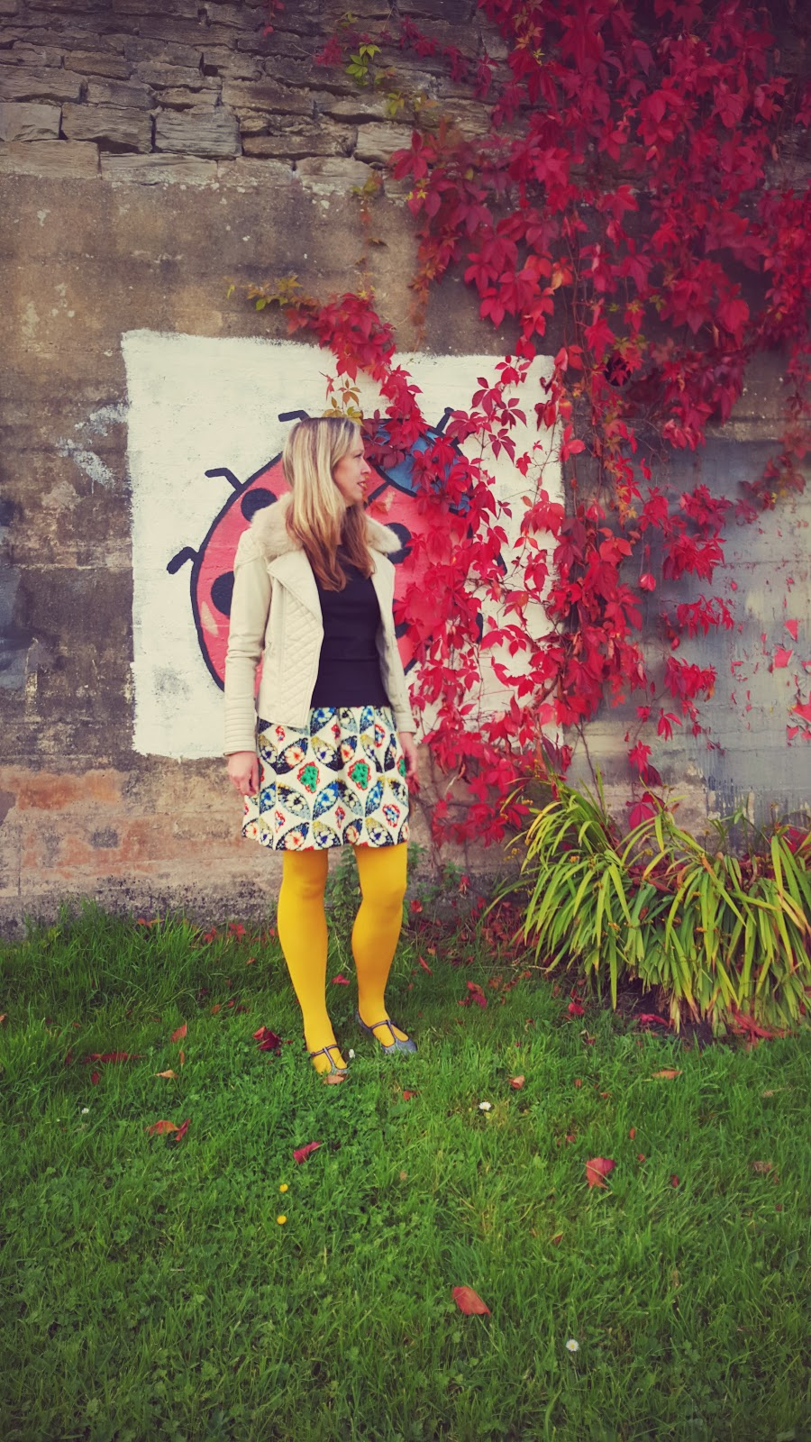 Autumn Style And Mustard Tights: What I Wore Post