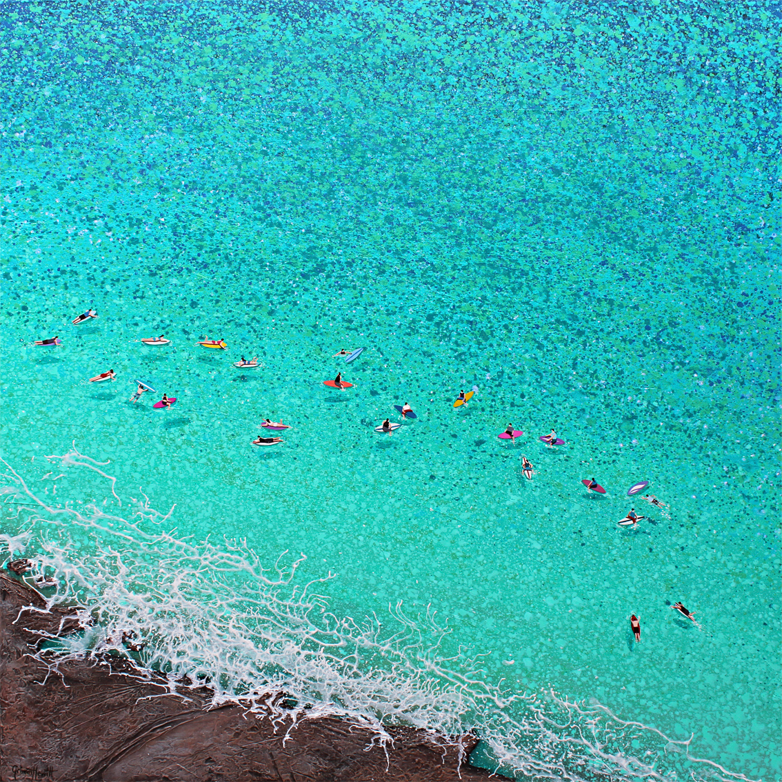 Nicole Grimm-Hewitt: fascinación por el mar