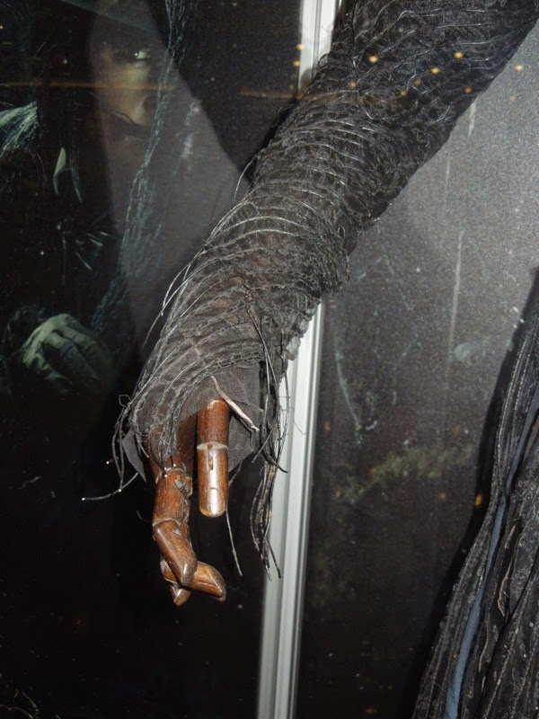 Into the Woods Witch costume sleeve
