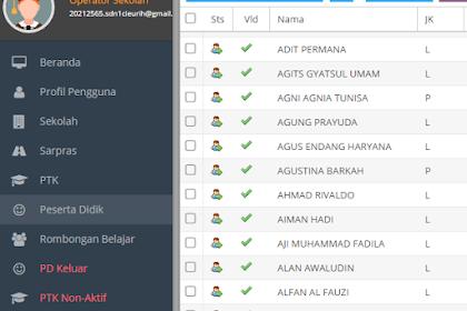 Mengisi Data Siswa Di Bio UN SD Dengan Fasilitas Ekspor Impor File Excel
