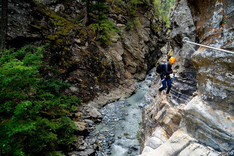 Gorge-Alpine Via Ferrata River Things to Do in Saas-Fee Switzerland in Summer